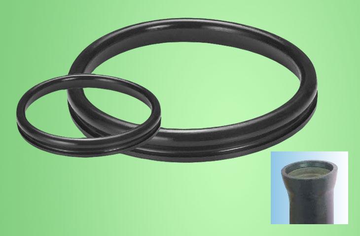 Prabhat Elastomers Pvt Ltd | PUSH - ON Gasket for Cast Iron