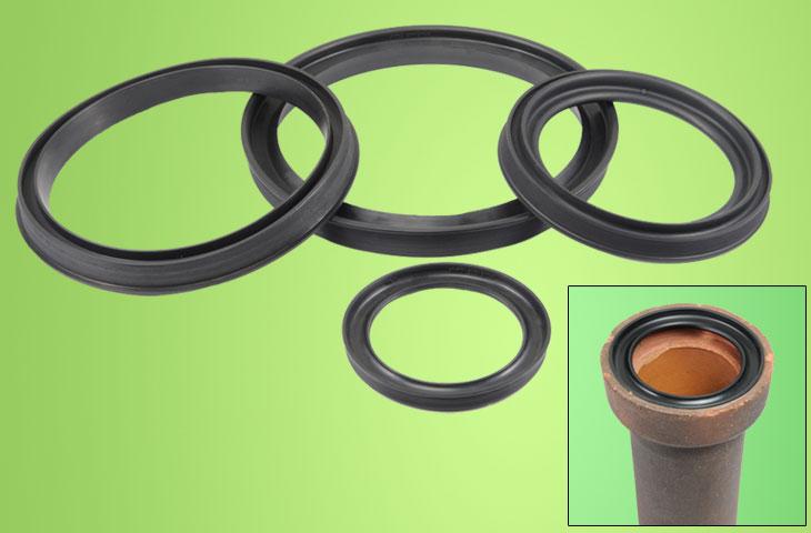 Stoneware Pipe Gasket Image