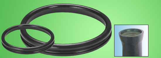 PUSH - ON GASKET